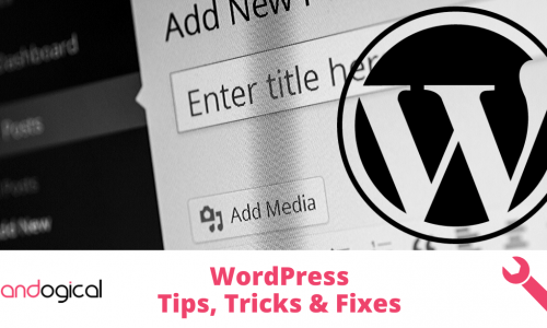 WordPress Tips Tricks Fixes 500x300 - How to fix WordPress when it gets stuck in maintenance mode.